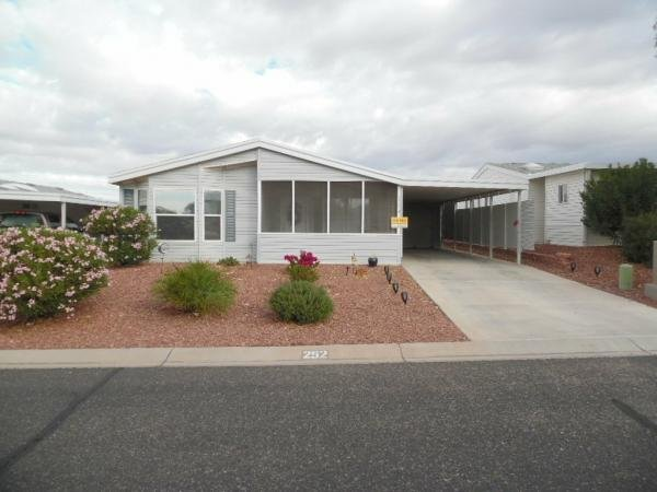 Mobile Home at 2350 ADOBE ROAD LOT #252, Bullhead City, AZ