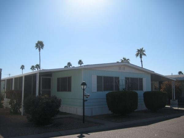 Mobile Home at 11411 N. 91st Ave. #154, Peoria, AZ