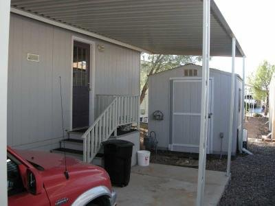 carport & finished shed