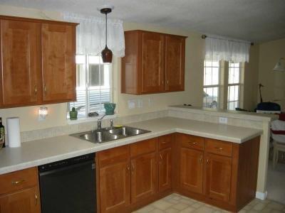 large bright kitchen w/ new sink