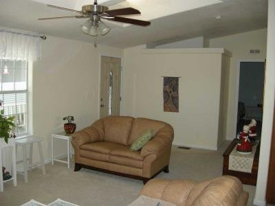 living room & front entry