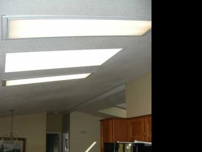 skylight and overhead lighting
