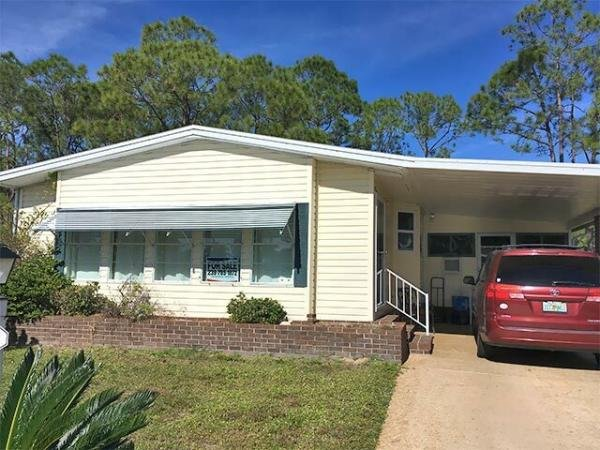 Mobile Home at 19649 WOODFIELD CIRCLE  #110, North Fort Myers, FL