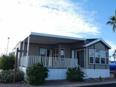 Mobile Home at 1110 North Henness Rd. #1550 Casa Grande, AZ
