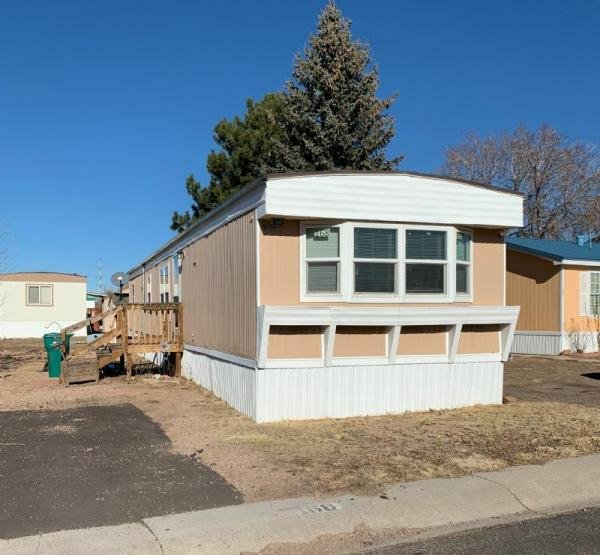 Mobile Home at 3280 S Academy Blvd, Lot #168, Colorado Springs, CO