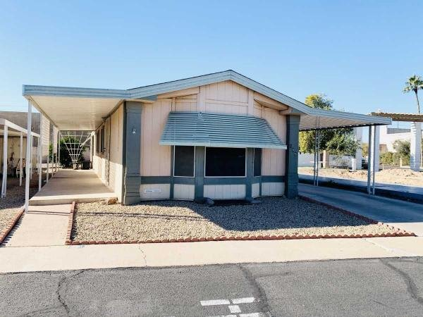 Mobile Home at 10701 N 99th Avenue, Lot 199, Peoria, AZ