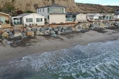 Single level beach cottage