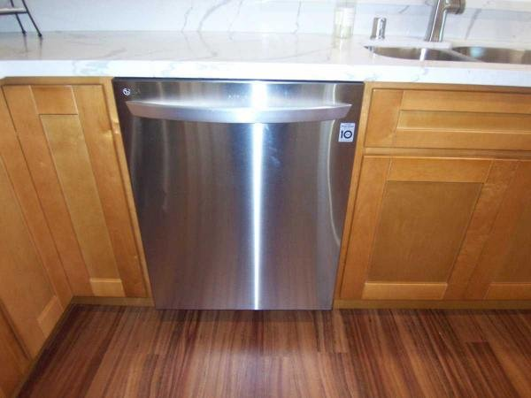 Stainless steel dishwasher...