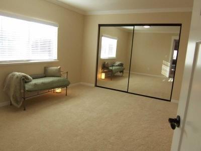 Master bedroom has adjoining...