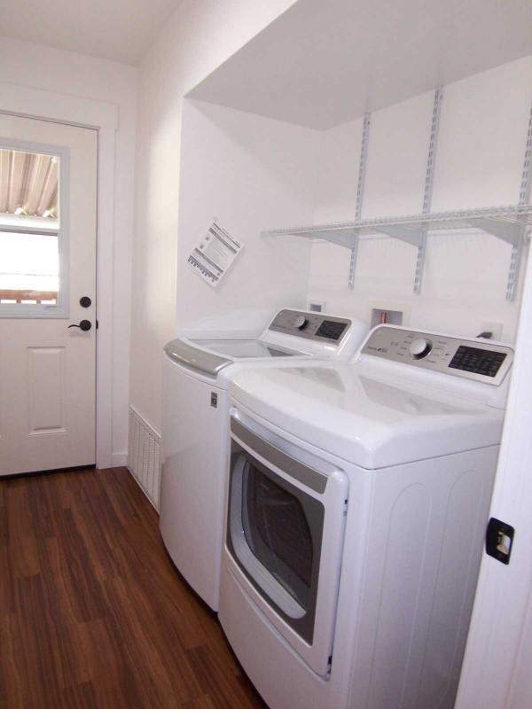 Laundry room includes...