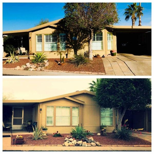 Mobile Home at 10701 N. 99th Avenue, Lot 44, Peoria, AZ
