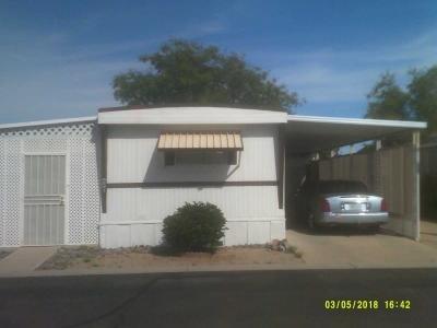 Mobile Home at 7344 W. PEORIA #27 Peoria, AZ