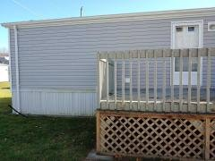 Back door and deck