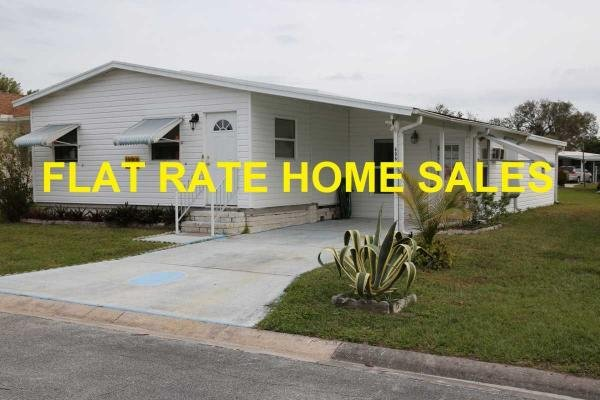Mobile Home at 8775 20TH STREET LOT 606, Vero Beach, FL