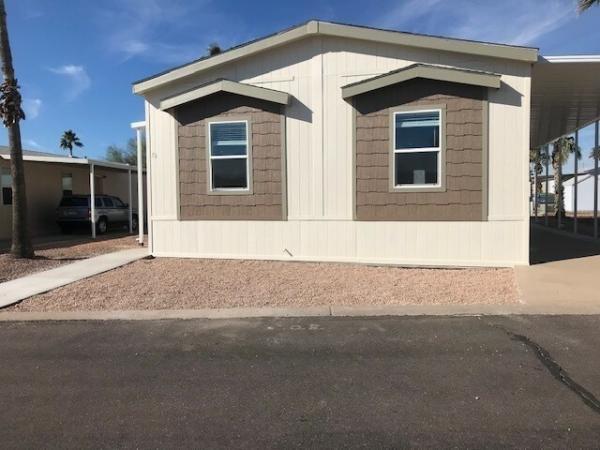 Mobile Home at 2000 S. Apache Rd., Lot #38, Buckeye, AZ