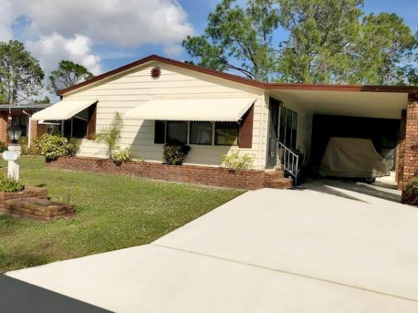 Mobile Home at 19506 CHARLESTON CIRCLE  #37, North Fort Myers, FL