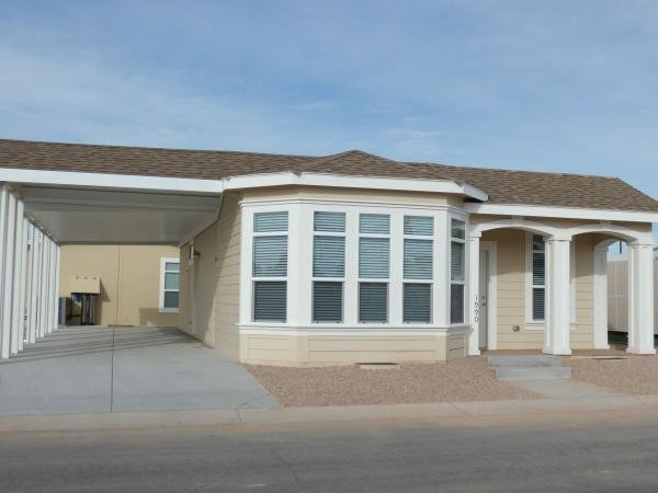 Mobile Home at 1110 North Henness Rd. #1990, Casa Grande, AZ