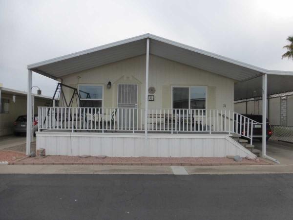 Mobile Home at 2701 E. Utopia Road, Space #31, Phoenix, AZ