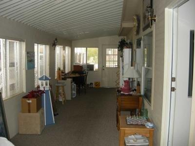 9'x35' enclosed front porch