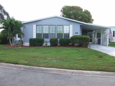Mobile Home at 412 Morristown Cay Vero Beach, FL 32966