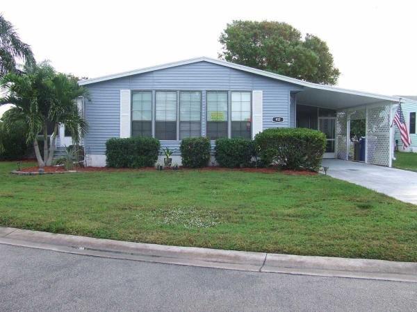 Mobile Home at 412 Morristown Cay, Vero Beach, FL