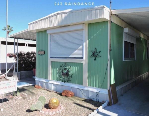 Mobile Home at 26055 S Tomahawk rd Lot 243, Apache Junction, AZ