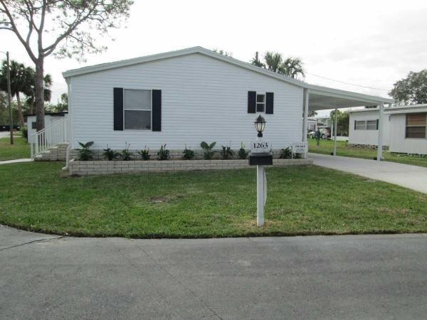Mobile Home at 1263 Carriage Drive, Daytona Beach, FL
