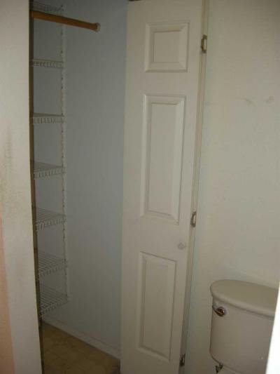 large closet in bathroom