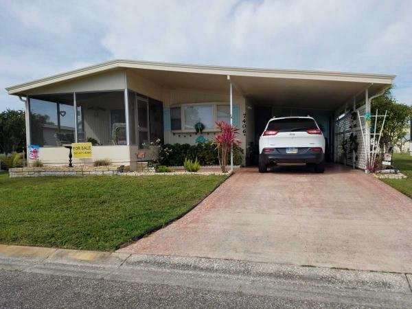 Mobile Home at 7406 Morningside Drive North, Ellenton, FL
