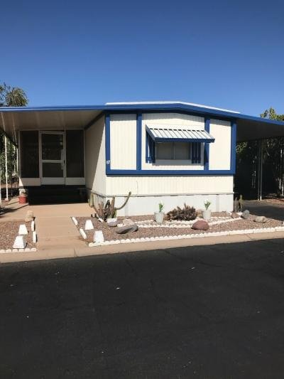Mobile Home at 8780 E Mckellips Rd Lt #87 Scottsdale, AZ 85257