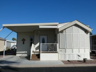 Mobile Home at 1110 North Henness Rd. #1571 Casa Grande, AZ