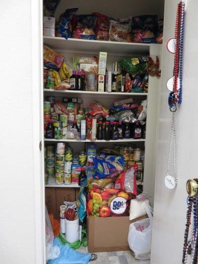 Pantry in kitchen