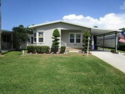 Mobile Home at 2058 EAST LAKEVIEW DRIVE Sebastian, FL 32958