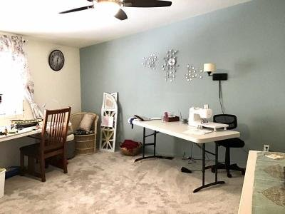 Master BR used as craft room