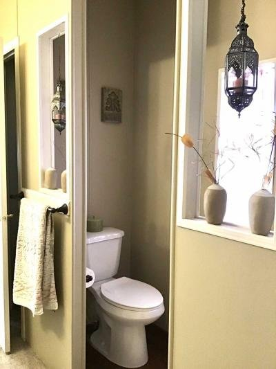 Private commode space