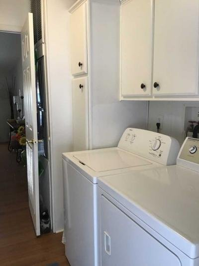 Lots of storage in laundry room