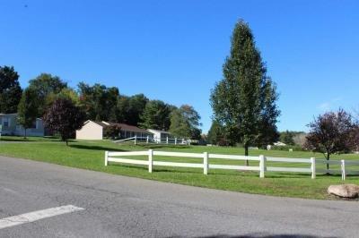 Beautiful community entrance