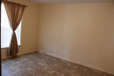 Master bedroom with w/i closet