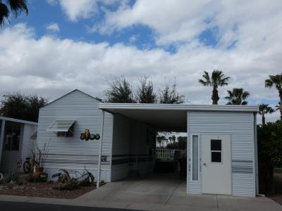 Mobile Home at 1110 North Henness Rd. #696 Casa Grande, AZ