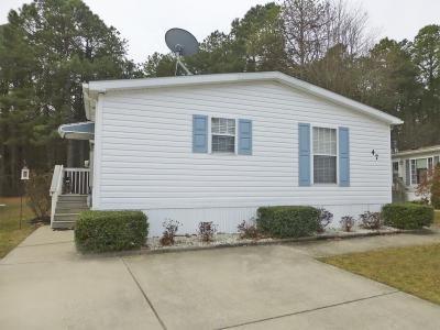 Mobile Home at 47 SHENANDOAH DRIVE Sicklerville, NJ