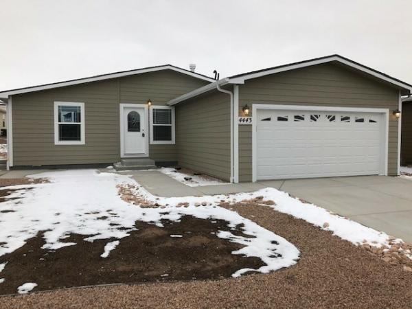 Mobile Home at 4443 Blue Grouse Point Lot BG4443, Colorado Springs, CO