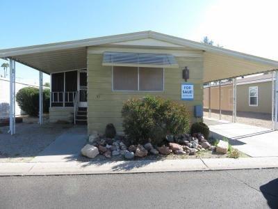 Mobile Home at 10960 N. 67Th Avenue #51 Glendale, AZ 85304