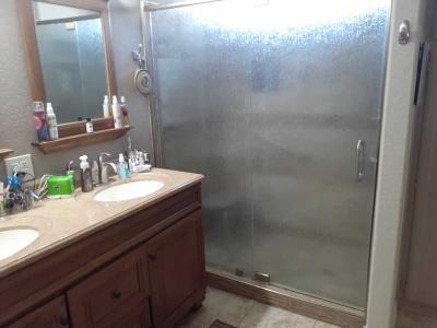 Custom tile shower, new doors