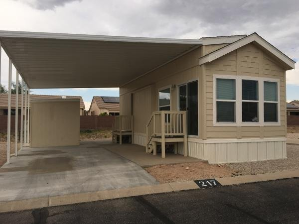 Mobile Home at 8701 S. Kolb Rd #11-217, Tucson, AZ