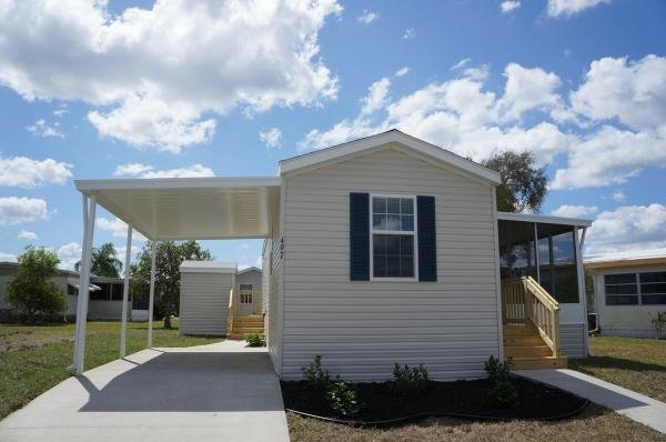 Mobile Home at 841 Bayshore Drive (Site 1283), Ellenton, FL