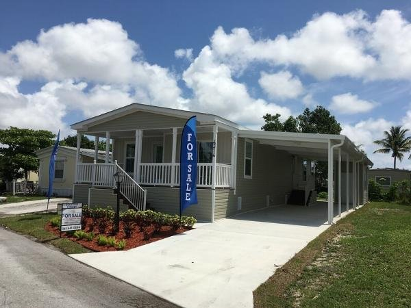 Mobile Home at 4438 VIOLA DRIVE #404, Lake Worth, FL