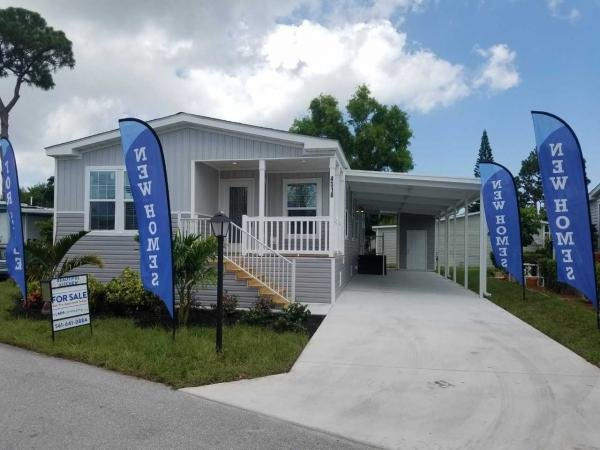 Mobile Home at 4437 GRETCHEN PLACE #273, Lake Worth, FL