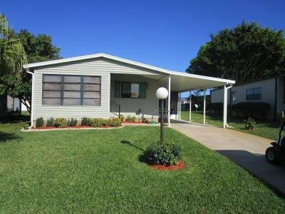 Mobile Home at 2118 EAST LAKEVIEW DRIVE Sebastian, FL 32958