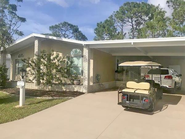 Mobile Home at 2853 CLOISTER ST.  #320, North Fort Myers, FL