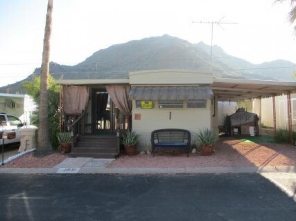 Mobile Home at 10401 N. Cave Crk Rd., #191, Phoenix, AZ